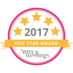 five star rated wedding celebrant